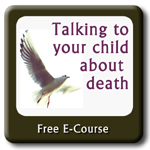 course logo - talking to your child about death