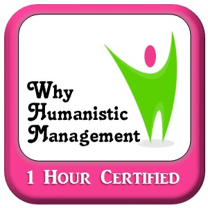 Why Humanistic Management Logo - with happy Human