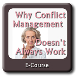 Why Conflict Resolution Doesn't Always Work