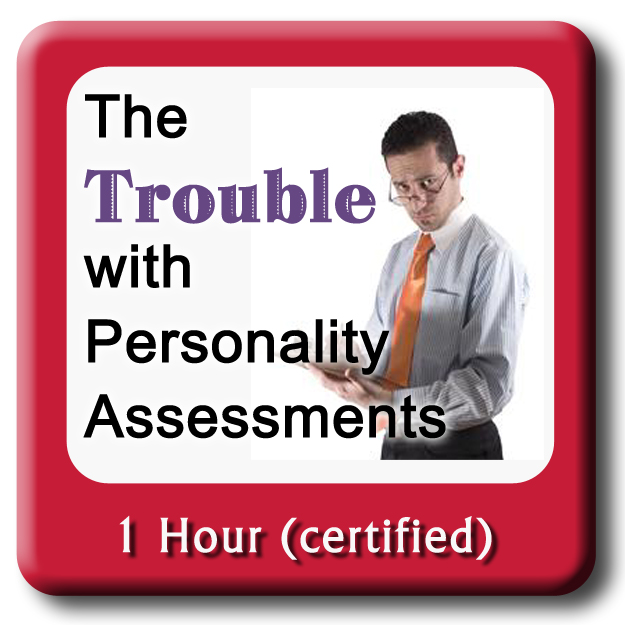 man with clipboard - the Trouble with personality assessments