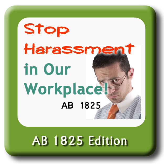 Stop Harassment - CA Edition - Basic